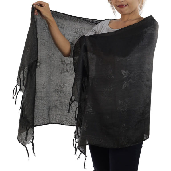 black scarf from thailand
