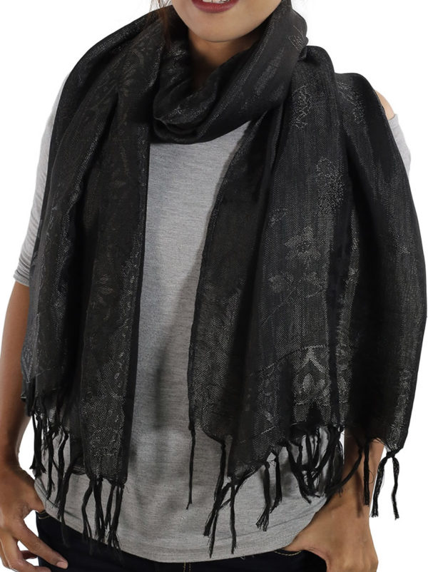 black scarfs from thailand