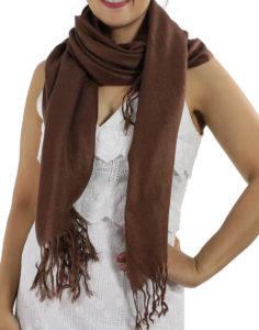 brown pashminas