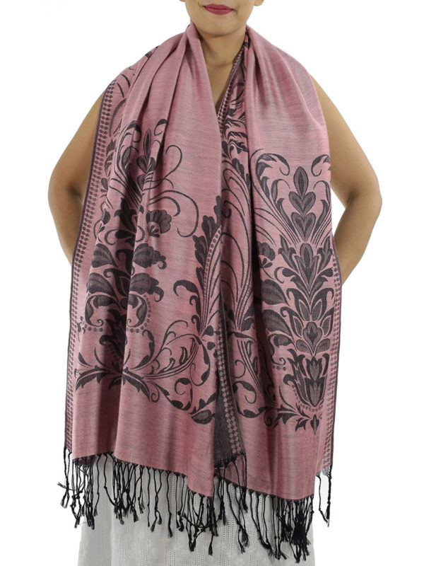 buy hot pink pashmina scarves