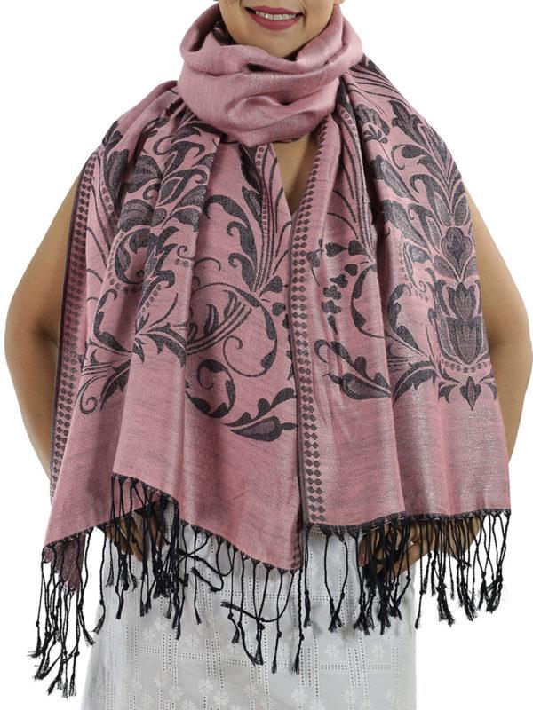buy hot pink pashmina shawl
