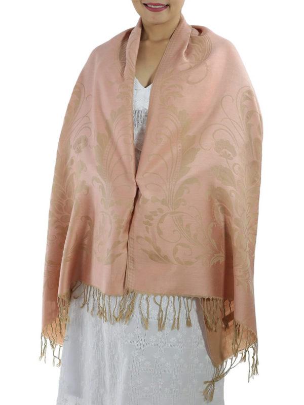 buy pink pashmina shawl