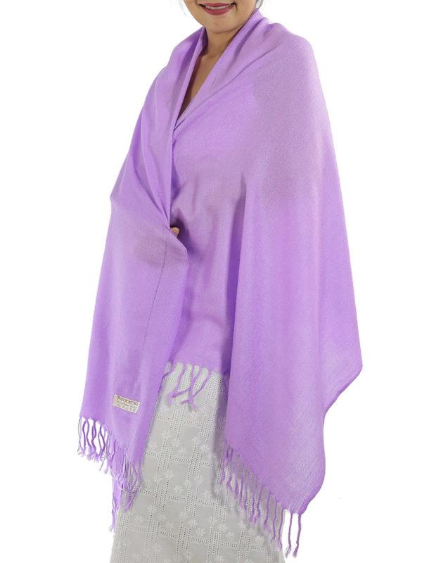 lavender pashmina shawl