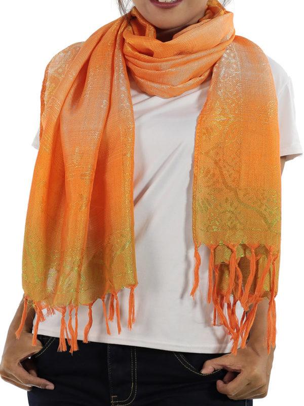 orange scarves from thailand